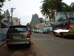 srirangam parking place uthara street near to temple