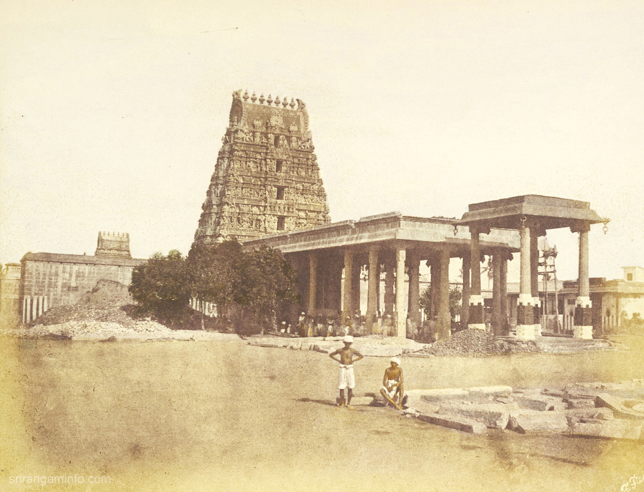 parthasarathi temple old picture entrance